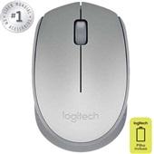 Mouse sem Fio Prata M170 1 UN Logitech