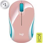 Mini Mouse sem Fio Rosa M187 1 UN Logitech