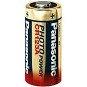 Bateria de Lítio 3V CR123A 1 UN Panasonic