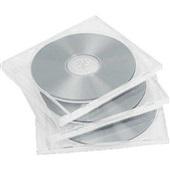 Capa para CD e DVD Individual Slim Transparente 5mm 1 UN DCI Brasil