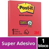 Bloco de Notas Super Adesivas Telha 76 mm x 76 mm 90 folhas Post-it