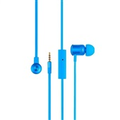 Fone de Ouvido Earphone Hands Free Wired Azul PH187 1 UN Pulse