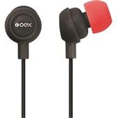 Fone de Ouvido Preto e Vermelho FN100 1 UN OEX