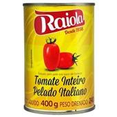 Tomate Pelado Lata 400g Raiola