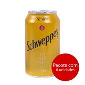 Schweppes Tonica Lata 350ml 6 UN