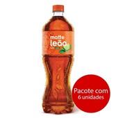 Chá Matte Limão 1,5L 6 UN Leão