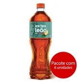 Chá Matte Pêssego 1,5L 6 UN Leão