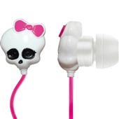 Fone de Ouvido Monster High Skull Branco PH106 1 UN Multilaser