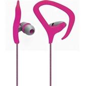 Fone de Ouvido Auricular Fitness Rosa PH166 1 UN Multilaser