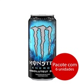 Energético Zero 473ml 6 UN Monster