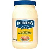 Maionese Regular 500g 1 UN Hellmann's
