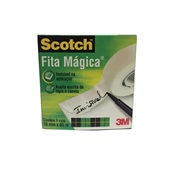 Fita Adesiva Mágica Scotch 19mm x 65m 1 UN 3M