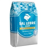 Sal Refinado Light 500g 1 UN Lebre