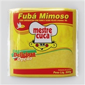 Fuba Mimoso 500g 1 Pacote Mestre Cuca