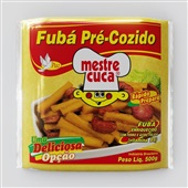 Fubá Pré-cozido 500g 1 Pacote Mestre Cuca