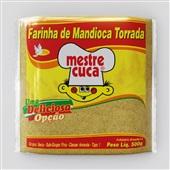 Farinha Mandioca Torrada 500g 1 Pacote Mestre Cuca