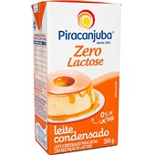 Leite Condensado Zero Lactose 395g Caixa 1 UN Piracanjuba