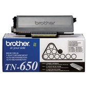 Toner Preto TN650 1 UN Brother