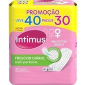 Protetor Diário Frescor Diário Perfumado Leve 40 Pague 30 UN Intimus