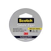 Fita Adesiva Silver Tape Cinza 45mm x 5m 1 UN 3M