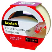 Fita Empacotamento Transparente Scotch 45mm x 50m 1 UN 3M