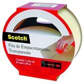 Fita Empacotamento Transparente 45mmx50m 1 UN Scotch