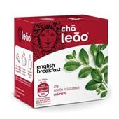 Chá de English Breakfast Sachê 2g CX 10 UN Leão