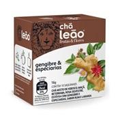 Chá de Gengibre com Especiarias Sachê 1,6g CX 10 UN Leão