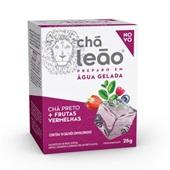 Chá Cold Brew Preto com Frutas Vermelhas Sachê 2,5g CX 10 UN Leão