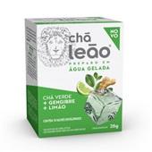 Chá Cold Brew Chá Verde com Gengibre e Limão 25g CX 10 UN Leão