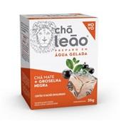 Chá Cold Brew Chá Mate com Groselha Negra 25g CX 10 UN Leão