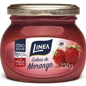 Geleia de Morango Zero Açúcar 230g 1 UN Linea