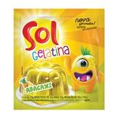 Gelatina em Pó Abacaxi 25g Sol