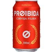 Cerveja 350ml 1 UN Proibida