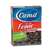 Feijão Preto Pronto 380g Camil
