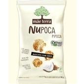 Pipoca Nupoca Integral e Orgânica Açúcar Mascavo com Coco 40g 1 UN Mãe Terra