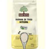 Farinha de Trigo Integral Orgânico 500g 1 Pacote Mãe Terra