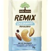 Remix Castanhas Brasileiras 25g 1 UN Mãe Terra