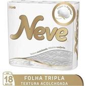 Papel Higiênico Folha Tripla 20m Premium Comfort 18 RL Neve