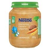 Papinha Sabor Macarrão Carne e Legumes 170g Nestlé