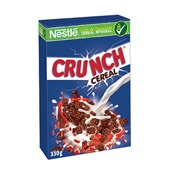 Crunch Cereal Matinal 330g CX 20 UN