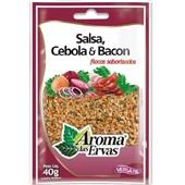 Salsa, Cebola & Bacon Flocos Desidratados 40g 1 UN Aroma das Ervas
