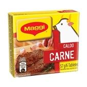 Caldo de Carne 57g 6 Tabletes 1 UN Maggi