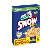 Cereal Matinal 620g 1 Pacote Snow Flakes