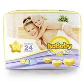 Fralda Premium Jumbinho EG PT 24 UN IsaBaby