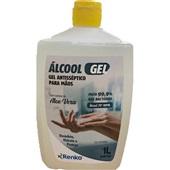 Álcool em Gel Antisséptico para Mãos 70% 1L 1 UN Renko