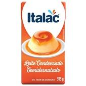Leite Condensado Semidesnatado 395g Italac