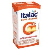 Leite Condensado UHT Zero Lactose 395g Italac