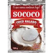 Coco Ralado 100g 1 UN Sococo