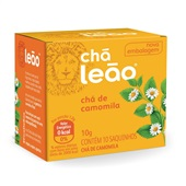 Chá de Camomila Sachê 1g CX 10 UN Leão